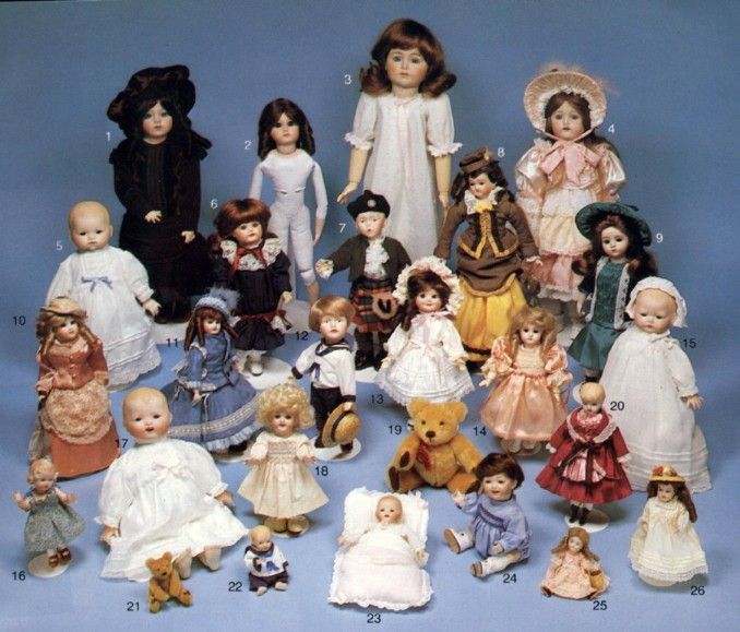 Dolls and kits